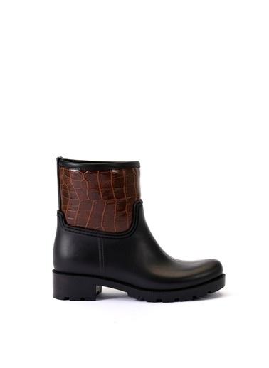 Esem ESEM B0015 Yağmur Botu Kadın Ayakkabı  Kahve